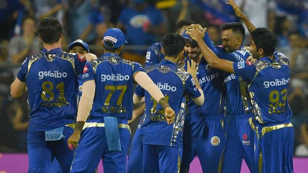 Mumbai Indians can qualify for the IPL 2018 play-offs even if they lose their last game against Delhi Daredevils.(AFP)