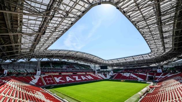 After ratifying the usage of the video assistant referee in Russia, FIFA is set to break more technological barriers at the 2018 World Cup. Image of stadium for representative purposes only.(AFP)