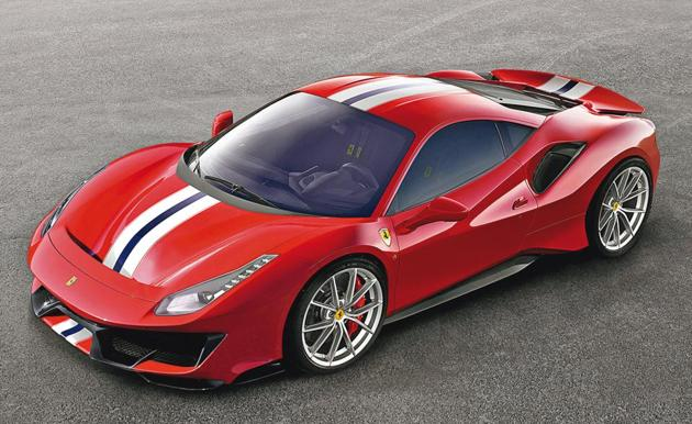 Pista, meaning track in Italian is the name given to the track version of the Ferrari 488 GTB