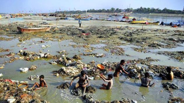 The Ganga River will also be cleaned at Bihar, Uttarakhand and Uttar Pradesh.(AFP File Photo)