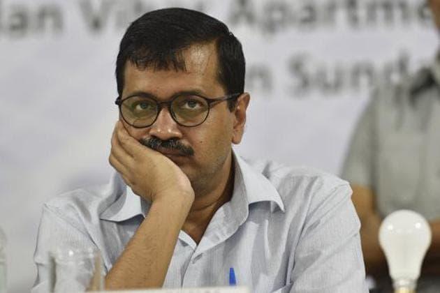 Arvind Kejriwal, chief minister of Delhi.(Sanchit Khanna/HT PHOTO)