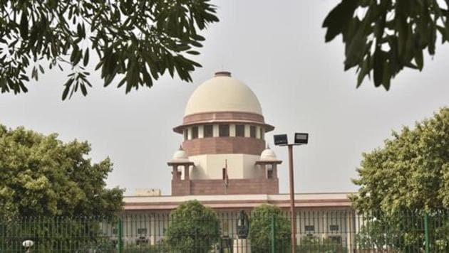 View of the Supreme Court of India in New Delhi.(HT File Photo)