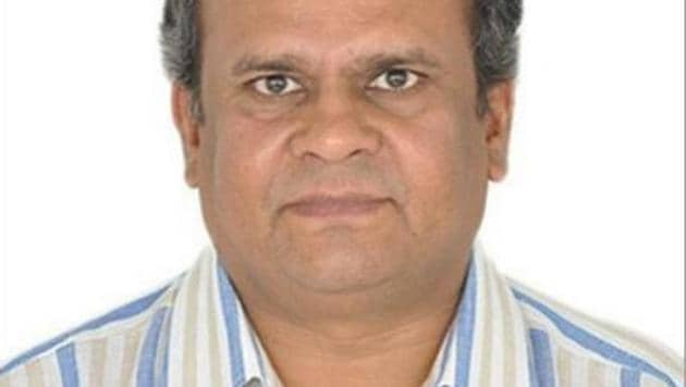 Rameshchandra Fefar said he could not come to office as he is busy with penance.(ANI Photo)