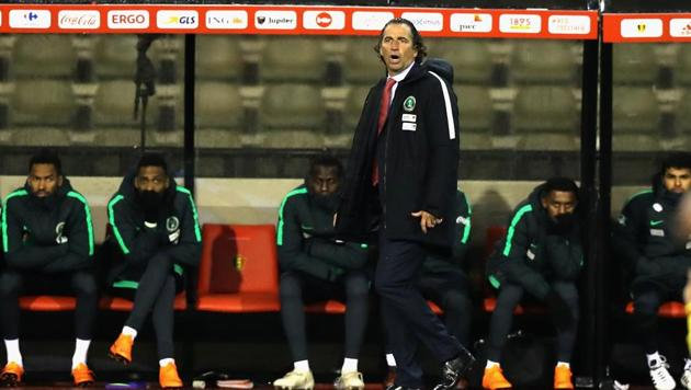 Juan Antonio Pizzi has picked a 28-man pre-World Cup Saudi Arabia squad.(Getty Images)