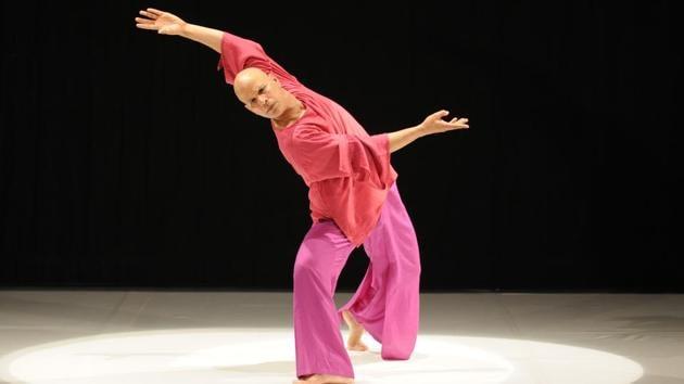 Jayachadran Palazhy, artistic director, Attakkalari Dance Company.(HT PHOTO)