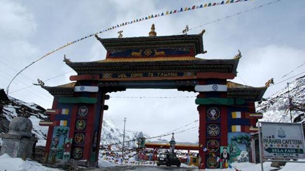 Arunachal Pradesh and some parts of Sikkim have restrictions on access and free movement of foreign tourists by way of permits.(Rajib Jyoti Sarma/HT File Photo)