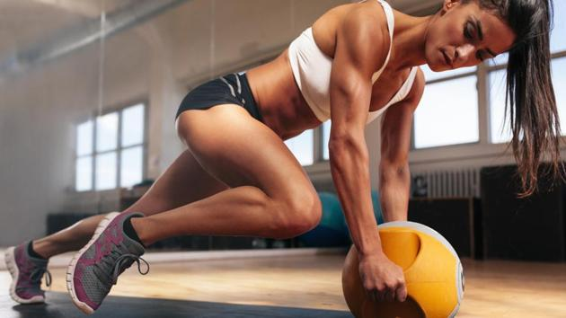 High intensity workouts increase the body's metabolism and there is more probability of losing fat and not muscles.(Shutterstock)