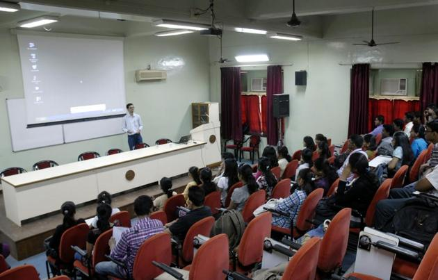 Many colleges are setting up entrepreneurship cells and organising start-up workshops to make sure their students have the information they need for business ventures.(HT File Photo/Used for representational purpose)