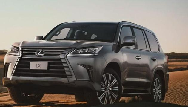 The new LX 570 is powered by a 5.7-litre V8 petrol engine.