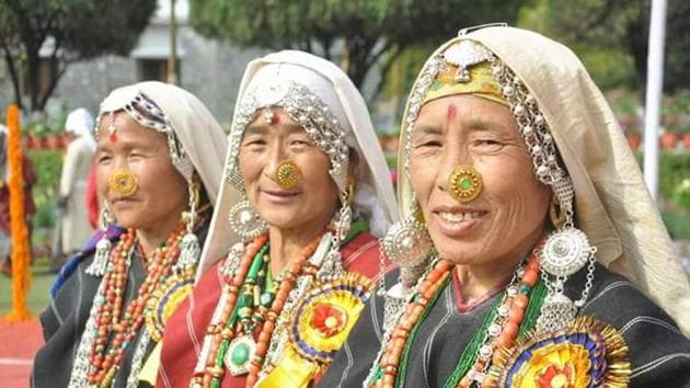 Folk traditions have the potential to attract foreign tourists to Uttarakhand.(HT Photo)