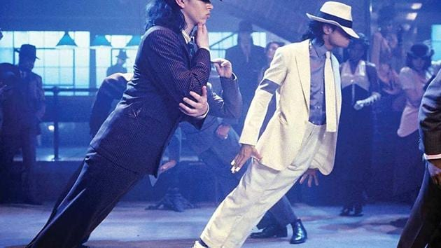 A still from the movie, Michael Jackson: Smooth Criminal.