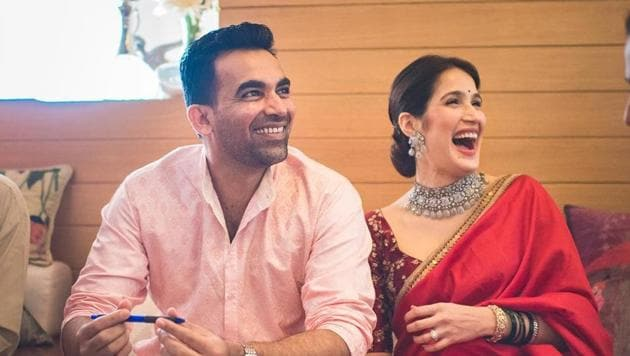 Sagarika Ghatge and Zaheer Khan got married in November last year.