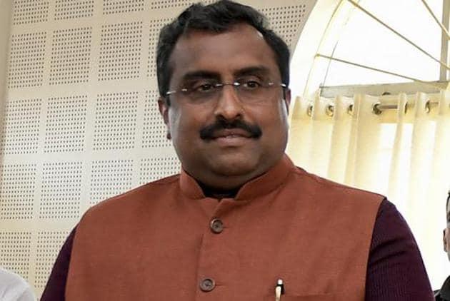 BJP leader Ram Madhav(AP File)
