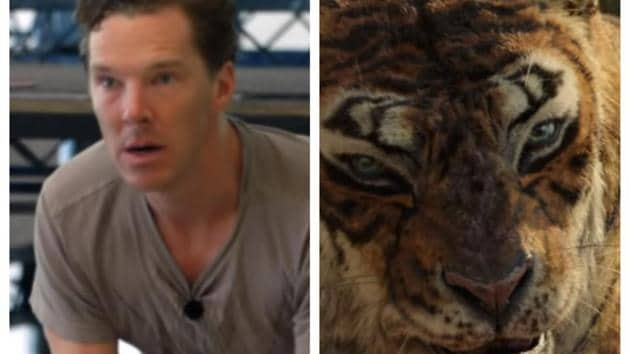 Benedict Cumberbatch plays Shere Khan in Mowgli.