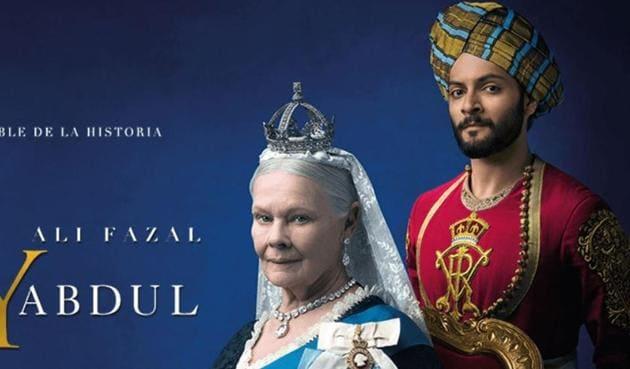 Ali Fazal and Judi Dench in Victoria and Abdul.