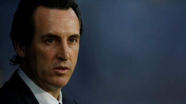 Unai Emery, who joined Paris Saint-Germain (PSG) in June 2016, left the French club at the end of this season, having led them to a domestic treble.(Reuters)