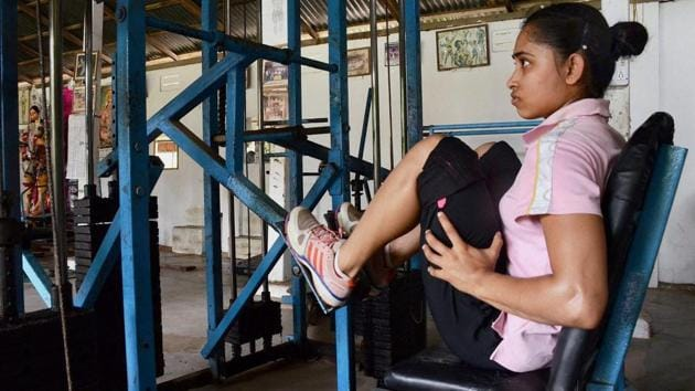 Dipa Karmakar's recovery has been slow ever since she underwent an Anterior Cruciate Ligament (ACL) surgery in April 2017(PTI)