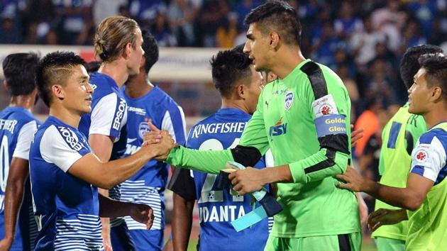 Bengaluru FC entered the final of AFC Cup in 2016.(AFP)