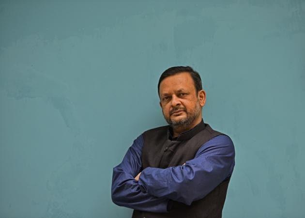 Syed Zubair Ahmad, editor, muslimmirror.com.(Anushree Fadnavis/HT PHOTO)