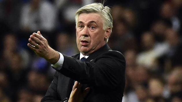 Carlo Ancelotti's previous job in Serie A was as the coach of AC Milan.(AFP)