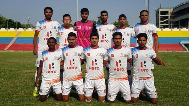 Hindustan FC left it late before 1-0 against TRAU FC on the opening day of the 2nd Division League final round.(AIFF - file photo)