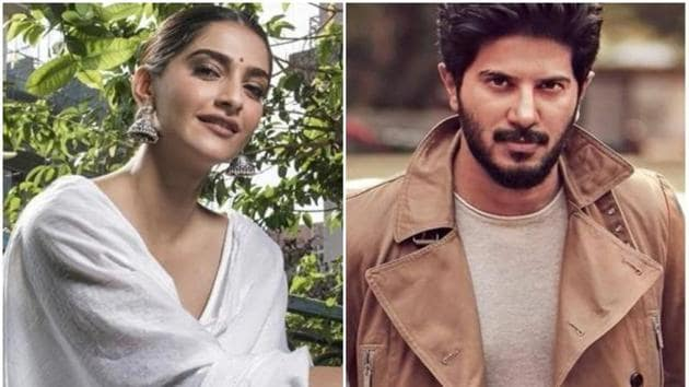 Sonam Kapoor and Malayalam heartthrob Dulquer Salmaan will soon be seen together in The Zoya Factor.(HT Photo)