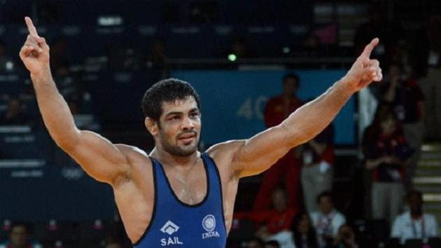 Sushil Kumar won a gold at the 2018 Commonwealth Games and is expected to take part in the Asian Games in Indonesia.+(Twitter)