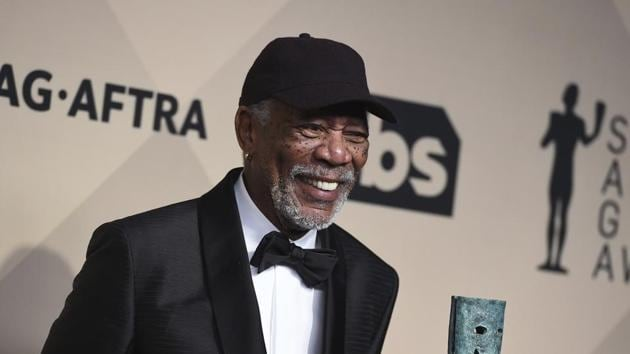 Morgan Freeman has been accused by eight women of sexual harassment whose claims have been supported by eight more people.(Jordan Strauss/Invision/AP)