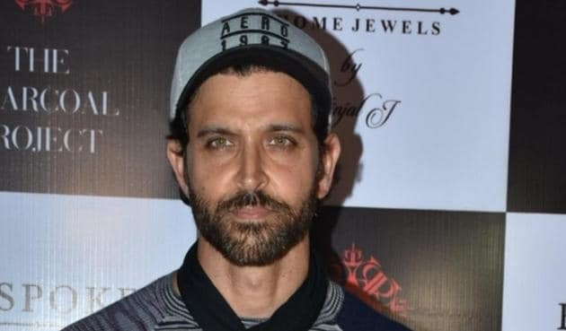 Hrithik Roshan was seen cycling and shooting a video as part of fitness challenge. Twitter had something to say on this.(IANS)