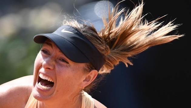 Maria Sharapova endured one of the worst periods of her career as she lost four straight matches in 2017 but is raring to go again ahead of the French Open tennis grand slam.(AFP)