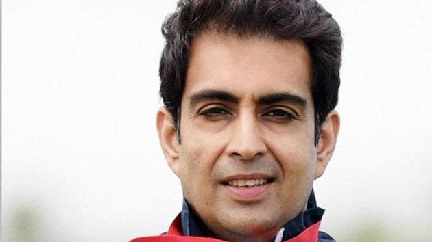 Manavjit Singh Sandhu failed to win a medal at the 2018 Commonwealth Games in Gold Coast.(Twitter)