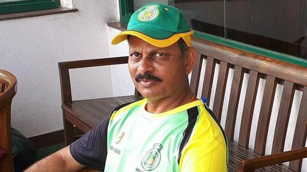Lalchand Rajput has been named as the interim coach of Zimbabwe cricket team.(Twitter)