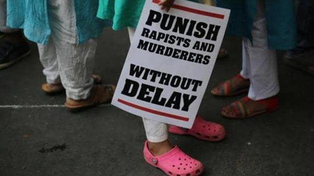Based on the medical examination of the girl and the doctor's statement, police booked Irfan for kidnapping and rape and also under sections of Protection of Children from Sexual Offences (POCSO) Act.(AP)