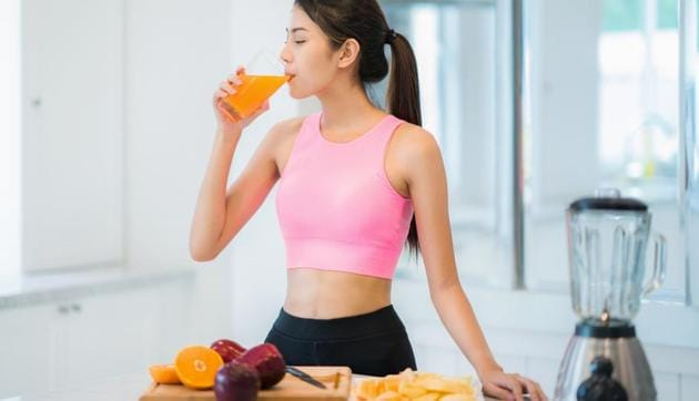 Juicing done the right way includes consumption of the fruit/vegetable fibres as well.(Shutterstock)