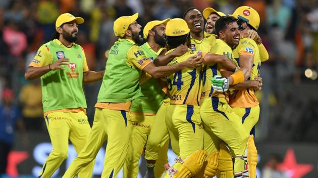 Chennai Super Kings will take on Sunrisers Hyderabad in the final of IPL 2018 at the Wankhede Stadium in Mumbai on Sunday.(AFP)