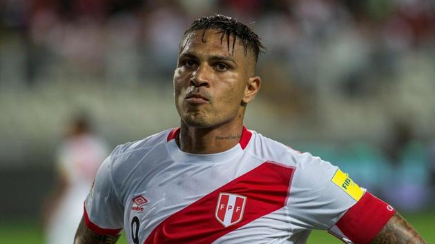 Paolo Guerrero has been banned after he tested positive for a byproduct of cocaine consumption.(AFP)