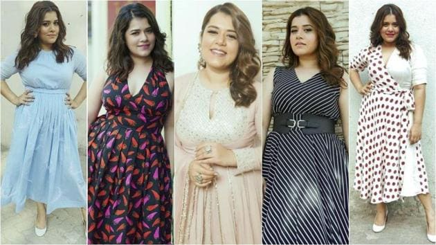 Shikha Talsania is giving us style goals for days, while promoting her film Veere Di Wedding. (Instagram)