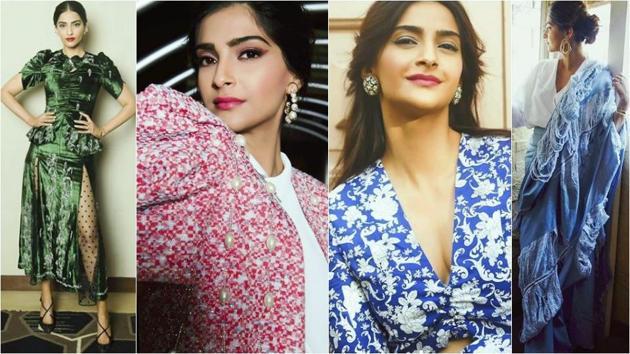 See Sonam Kapoor Ahuja's Veere Di Wedding press tour wardrobe: Every single look is a winner. (Instagram)