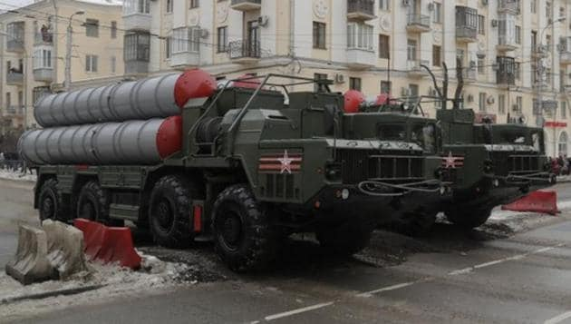 S-400 missile air defence systems drive during the military parade in Volgograd, Russia.(Reuters File Photo)