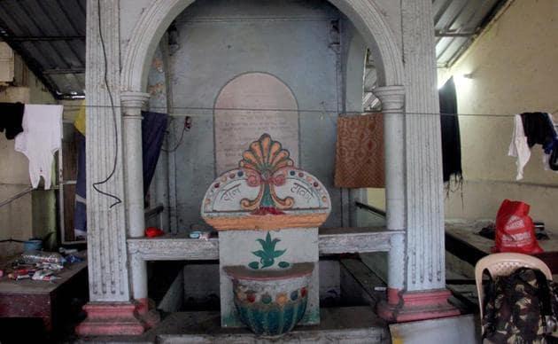 Water fountain (Pyau ) at Do Tanki, in Mumbai.(HT Photo)