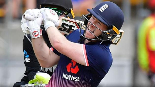 Eoin Morgan will not play in the World XI team for the fundraiser T20 encounter against West Indies on May 31.(AFP)