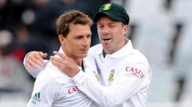 Dale Steyn and AB de Villiers played 221 international matches together.(Reuters)