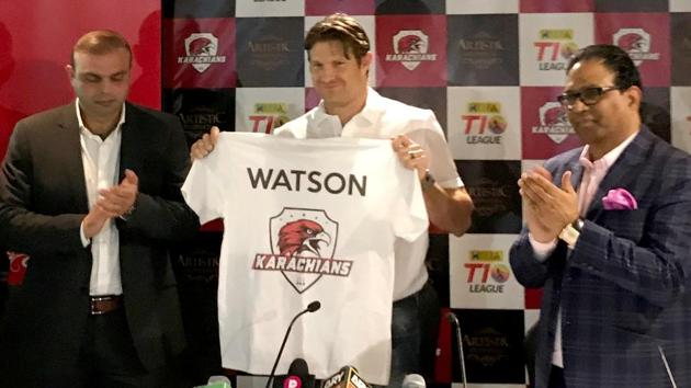 Shane Watson, in a news conference in Dubai, UAE on May 29, 2018, said the punishments slapped on Steve Smith, David Warner and Cameron Bancroft were extreme.(REUTERS)