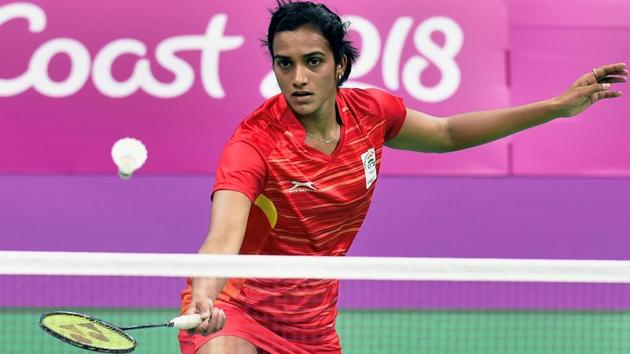 PV Sindhu, who won two medals at the 2018 Commonwealth Games, was forced out of the Uber Cup due to injury.(PTI)