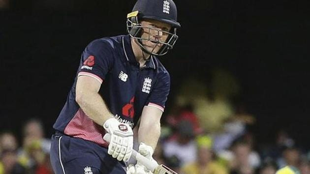 England's limited-overs captain Eoin Morgan suffered a fractured finger while playing for club side Middlesex on Sunday but hopes to return for next month's ODI series against Australia.(AP)