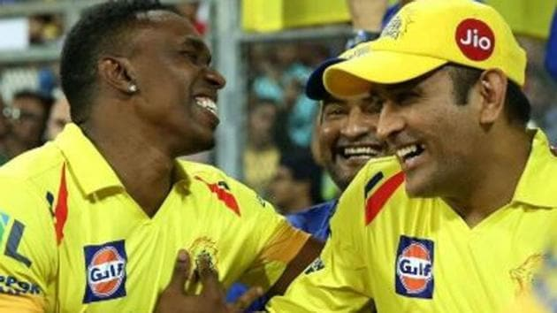MS Dhoni features in Dwayne Bravo's Chennai Super Kings anthem - Watch Video