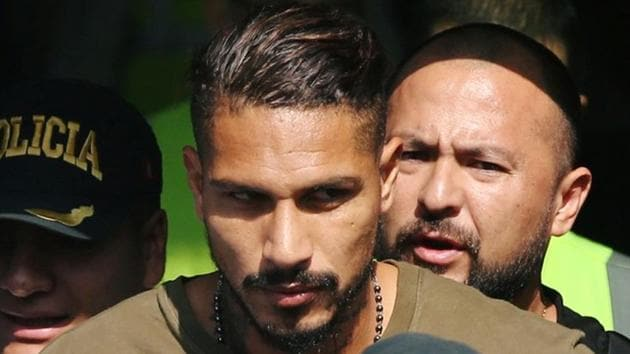 Paolo Guerrero was given a 14-month ban for testing positive for banned drugs.(REUTERS)