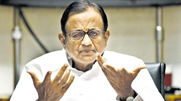 Chidambaram said in his plea he was summoned despite the fact that he was not mentioned as an accused or a suspect.(HT Photo)