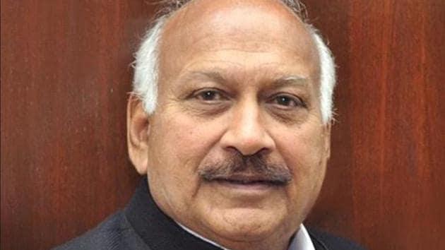 Punjab cabinet minister Brahm Mohindra(HT File)