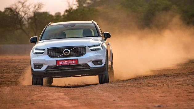 The Volvo XC40 is longer, wider and taller than the Audi Q3, and has a longer wheelbase too, but it is shorter than the BMW X1 in terms of length and wheelbase.
